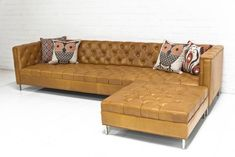 Hollywood Leather Sectional by ModShop