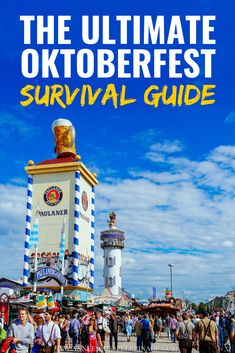All you ever need to know about Oktoberfest, Munich. How to get into a beer tent, what to eat and what to wear. Insider tips from a local. Europe Destinations, Europe Travel Guide, Travel Guides, Travelling Europe, Italy Travel, Visit Germany, Germany Travel, Munich Germany, Festivals Around The World