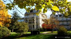 C'est au milieu de cette verdure que se trouve le Brenners Park Hotel & Spa, l'un des plus beaux hôtels allemands.