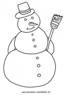 Ausmalbilder Schneemann ausmalbilder Winter Snowman