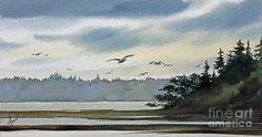 Saltwater Bay Painting