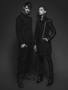 #answear.com #black #jacket #coat