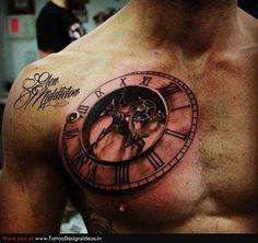Insane Chest Tattoo