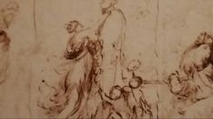PREPARATORY SKETCH FOR THE TRIUMPH OF PAN. 1635. pencil, pen brown ink on paper. 14,2 × 20,8 cm. Nicolas Poussin, Roman, Sketch, Pencil, Ink, Statue, Paper, Sketch Drawing, Sketches