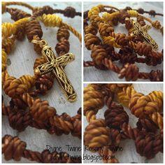 Brown and Yellow Batik