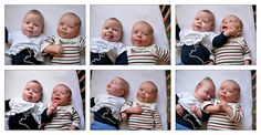 Madelief and Karel are being funny. Madelief en Karel hangen de grapjas uit.  please view large or see all six in original size   Funny babies aren't they just delightful at this age.  found a treat for New Mothers of funny babies.  Obtain a Free Gerber® Baby Bath Time Gift Set  . This {adora