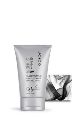 JOICO SuperShine - glossing polish - Smoothens and polishes all hair types, imparting brilliant, color enhancing shine. Can also be used to spot detail as a finishing touch for separation and definition.