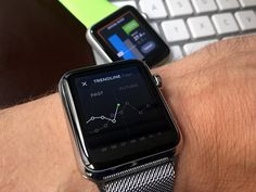 Working on our first Apple Watch App for tickr. Very interesting how different the designs on the actual device feel. Apple Watch Apps, Apple Watch Iphone, Apple Watch Series 1, Android Watch, Android Smartphone, Mobile Design, App Design, Cold Brew Coffee Maker, Real Coffee