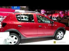 ▶ 2014 Dacia Sandero Stepway - Exterior and Interior Walkaround - 2014 Geneva Motor Show - YouTube
