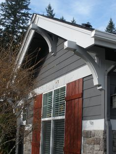 1000 images about corbels brackets on pinterest for Exterior house brackets
