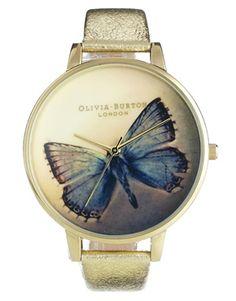 Enlarge Olivia Burton Woodland Metallic Butterfly Watch