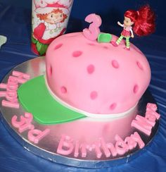 Strawberry Shortcake Birthday Cake