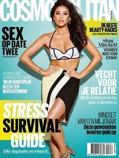 Cosmopolitan Magazine, Instyle Magazine, Shay Mitchell, Celebrity Crush, Celebrity Photos, How To Apply Lipstick, Applying Lipstick, Vogue Magazine Covers, Practical Jokes