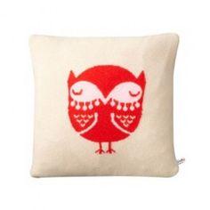 Donna Wilson Cushion Owl Sand