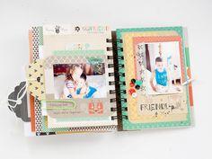 """My dreams.....: Mini-album """"Friends"""""""