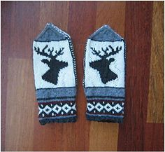 Ravelry: Vancouver 2010 Olympics Mittens pattern by Heather Desserud