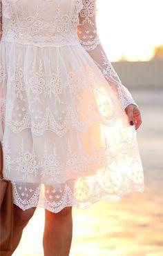 Mi Amore Lace Dress Lovely and well priced! Petite Fashion, Cute Fashion, Unique Fashion, Pretty Dresses, Beautiful Dresses, Vestidos Retro, Stylish Petite, Crochet Lace Dress, Moda Chic