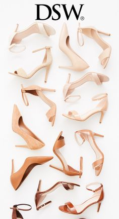 Blend in to stand out! Shope the perfect nude shade for you at dsw.com