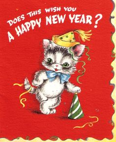 Does this wish you A Happy New Year?