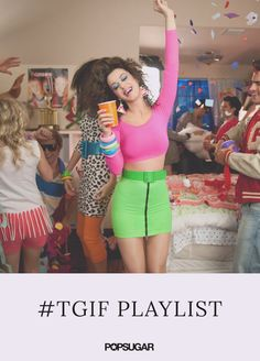 It's officially Friday! Which means it's time to leave any stress behind as you slip into weekend mode. We've created a Spotify #TGIF playlist that will take your mind off work and get you ready for happy hour. Whether you're jamming along behind headphones or cranking up the tunes with your co-workers, we guarantee this two-hour playlist will start your weekend off with a bang!