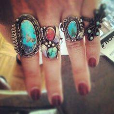 rings in my fav colors