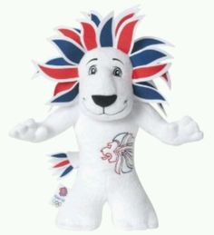 "Rio 2016 Olympics Official TEAM GB Mascot Lion ""Pride"" 30cm Plush Soft Toy NEW 