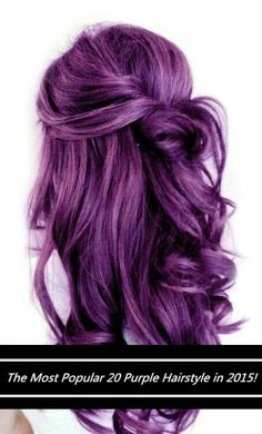 Warning: These 20 Purple Hairstyles Will Make You Want to Dye Your Hair!#Purple hair#