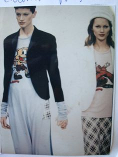 Marc Jacobs original 1992 Grunge collection modelled by Kate Moss
