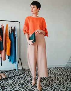 Fashion To Figure, Work Fashion, Fashion Models, Fashion Outfits, Color Combinations For Clothes, Color Blocking Outfits, Summer Work Outfits, Summer Outfits Women, Vetement Fashion