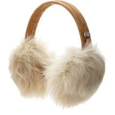 Ugg Australia Toscana Earmuff found on Polyvore featuring accessories, ugg australia and shearling earmuffs