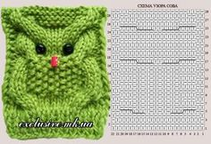 , knitted owl , knitted owlIn the garden scarf, # garden scarfLearn to crochet: All basic terms explained for beginnersKnitting net -Margrits Mexicopullover-. Owl Knitting Pattern, Knitting Stitches, Knitting Patterns Free, Crochet Patterns, Diy Crafts Knitting, Knitted Owl, Fingerless Gloves Knitted, Owl Hat, Owl Patterns
