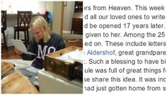 """This viral video shows a young woman opening """"letters from heaven"""" on her 18th birthday and every parent is going to wish they'd thought of it."""