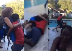 Teen who threw elderly woman into pool turns self in after tips lead to his identity: 'I messed up'