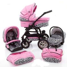 Baby Doll Car Seat And Stroller Newborn Girl
