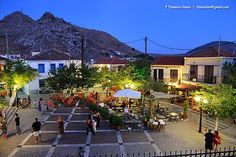 Plati village is located within close distance from Myrina and its high spot is its busy beach organized with beach-bars, taverns and rooms to let, Lemnos island, Aegean sea Samos, Rooms To Let, Greece Islands, Beach Bars, Goldfish, Street View, London, Mansions, Landscapes