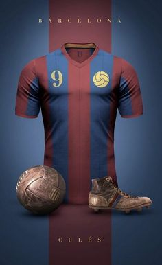 Barcelona champions league vintage jersey