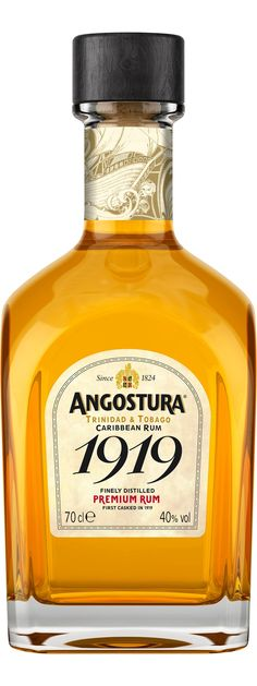 Angostura 1919 Caribbean Rum from Trinidad and Tobago.