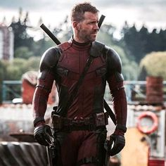 The most famous Deadpool jacket he lunched in 2016. Now in upcoming #Deadpool2 movie Ryan Reynolds wear's #Costume #Jacket for you. Shop Now. #menswear #deadpool2 #wadewilson