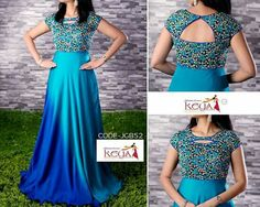 Indian Fashion Dresses, Indian Gowns Dresses, Dress Indian Style, Indian Designer Outfits, Designer Gowns, Ball Dresses, Long Dresses, Simple Gown Design, Long Gown Design