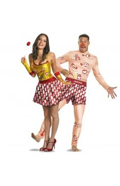 Operation and Operation Sexy Couples Costume Image
