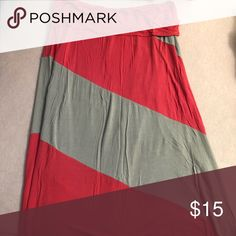 Deb Maxi Skirt Size: 2X. Bought from Deb. Excellent used condition. Deb Skirts Maxi