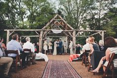 Photo by Eden Frangipane http://ruffledblog.com/creative-nashville-wedding-with-art-installations. Rentals by MCTE.
