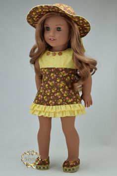 Amelican girl doll clothes Special Occasion OOAK by PurpleRoseNY