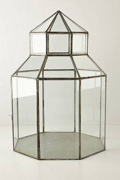 Glass Gazebo Terrarium  #anthropologie  #anthrofave