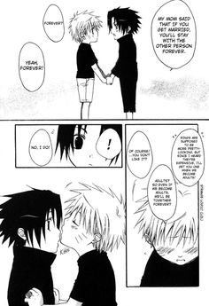 SasuNaru.   I don't care what couple you ship, this is cute~