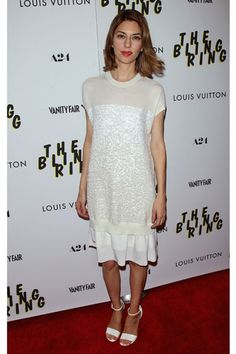 The 50 Best Little White Dresses: Sofia Coppola in Louis Vuitton