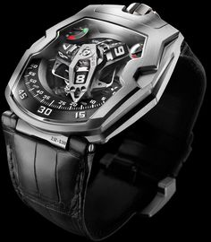 URWERK UR 210 Watch Reminds You To Stop Being Lazy