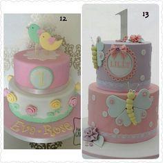 Primer añito nena Baby Girl Cakes, 1st Birthdays, Baby Birthday, Baby Shower, Candy, Ideas, Cakes With Fondant, Pastries, Bebe