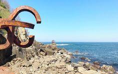 Figuras frente al mar // San Sebastián