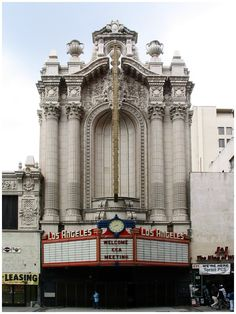 One of the historic theaters, it was constructed in It is a seater movie palace. Los Angeles Museum, Renaissance Fashion, City Of Angels, Louis Xiv, Concert Hall, Happy Things, Vintage Movies, Movie Theater, Retail Design
